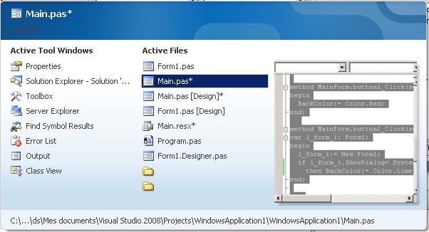 select_a_document_shortcut