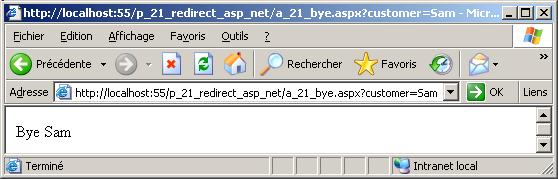 redirect asp net response